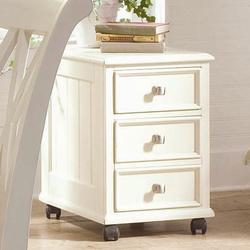 Camden - Light File Cabinet with 4 Casters and 2 Drawers