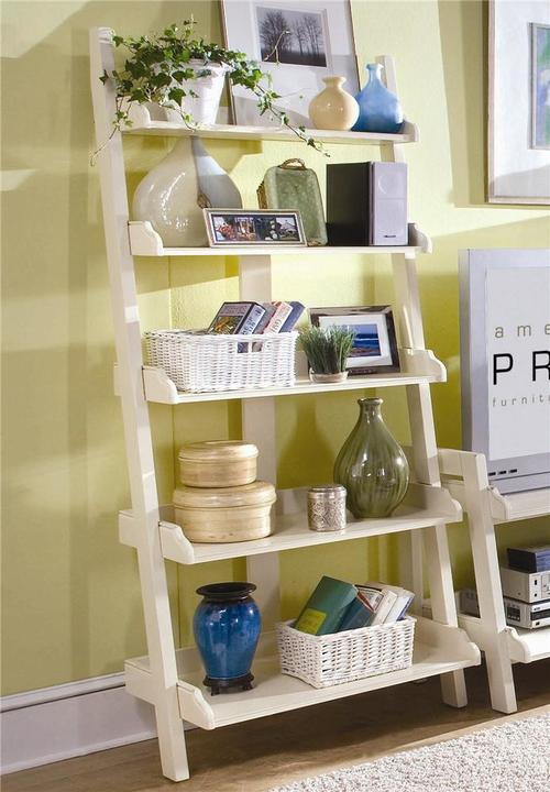 American Drew Camden Light Wall Storage With Five Shelves