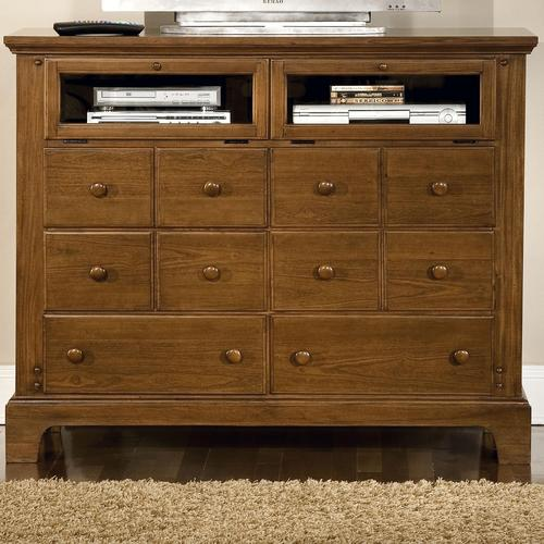 bradford youth entertainment dresser with 10 drawers and 2 door