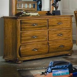Timberline Dresser Chest with 6 Drawers