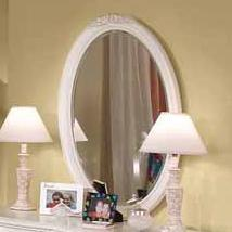 Cheri Beveled Oval Mirror