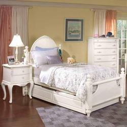 Cheri Full Poster Bed with Underbed Storage