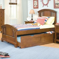Bradford Youth Full Panel Headboard and Footboard Youth Trundle Bed