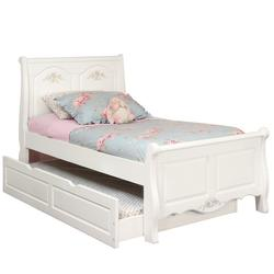 Summerset Twin Size Sleigh Bed