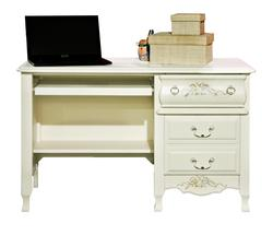 Summerset Two Drawer Computer Desk with Floral Detailing
