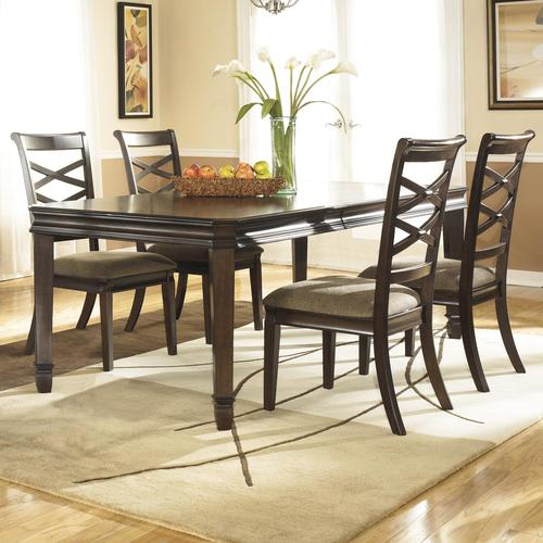 Ashley Furniture Hayley Contemporary 5 Piece Dining Set  : D480 35 4x01 from www.luisfurniturestyle.com size 500 x 500 jpeg 42kB