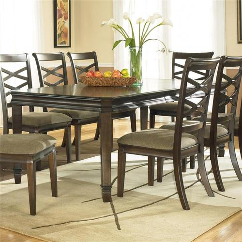 Ashley Furniture Hayley Rectangular Extension Table With