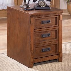 Cross Island Mission 2 Drawer Mobile File Cabinet