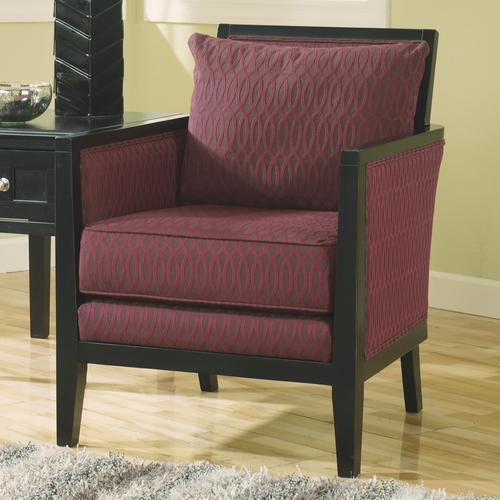 Exposed Wood Furniture ~ Ashley furniture dinelli exposed wood frame accent chair