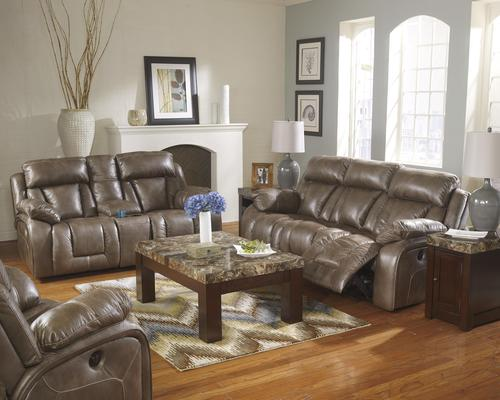Ashley Furniture Loral Sable Reclining Living Room Group