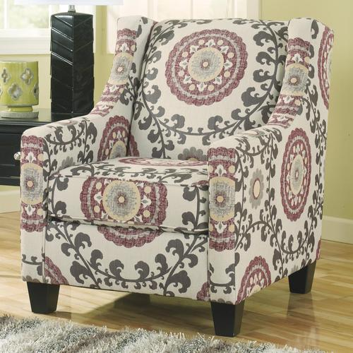 Superieur Dinelli Contemporary Floral Accent Chair