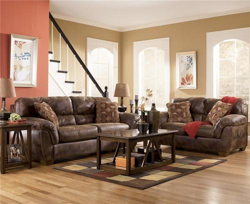 Ashley Furniture Frontier Canyon Stationary Living Room Group