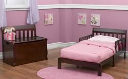 Toddler Beds and Storage Toddler Headboard Bed w/ Storage Box