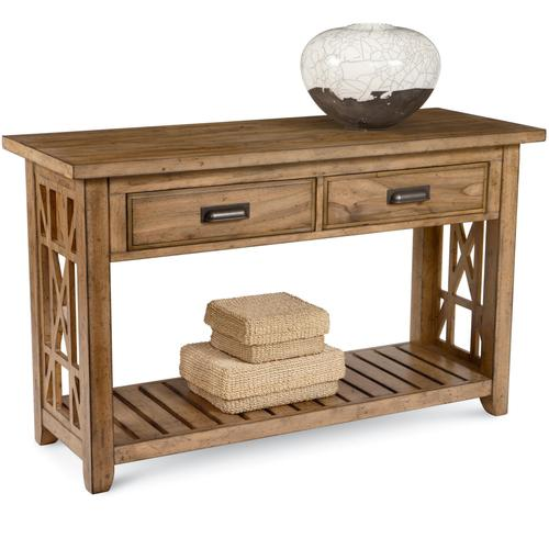 Broyhill Furniture Frasier Console Table With Drawers And Shelf - Frasier coffee table