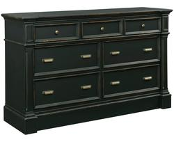 New Vintage 7-Drawer Dresser with Jewelry Tray