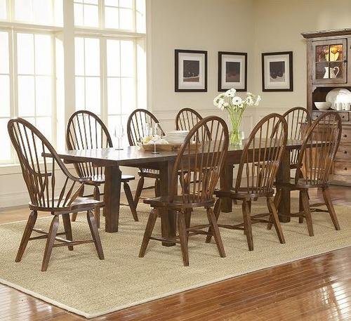 broyhill furniture attic heirlooms 9 piece dining set. Black Bedroom Furniture Sets. Home Design Ideas