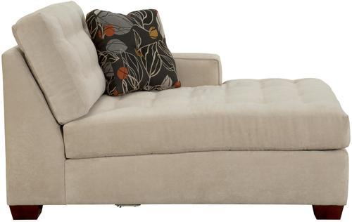 Broyhill furniture tribeca contemporary right arm facing for Broyhill chaise lounge cushions