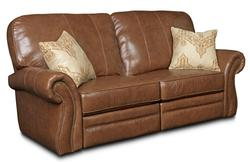 Billings Traditional Power Reclining Sofa with Rolled Arms and Nailhead Trim