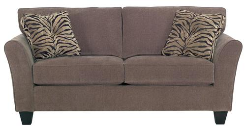 Nice Maddie Two Seat Apartment Sofa With Contemporary Flared Arms