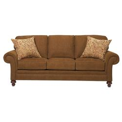 Larissa Upholstered Stationary Sofa with Rolled Arms