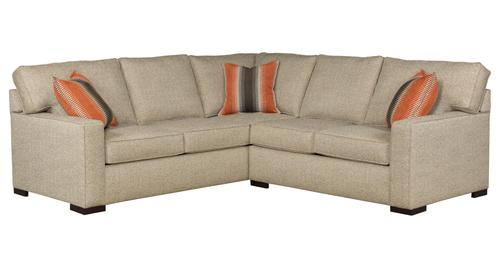 Broyhill furniture raphael contemporary two piece for Raphael contemporary sectional sofa