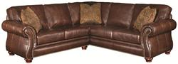 Sanremo Traditional 2-Piece Sectional Sofa with Right Corner Sofa