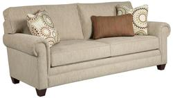 Monica Transitional Queen Air Dream Sleeper Sofa with Rolled Arms