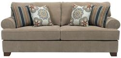 Serenity Queen Air Dream Sofa Sleeper with Rolled Sock Arms