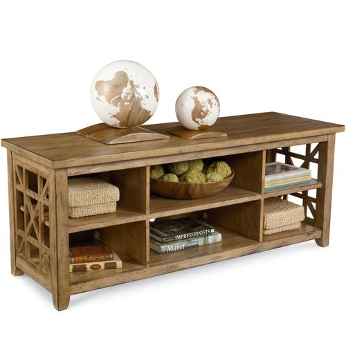 Broyhill Furniture Frasier Open Console Unit With Compartments - Frasier coffee table
