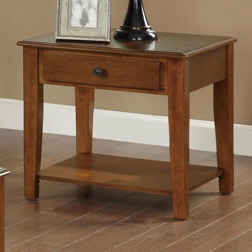 Coaster occasional group end table with drawer shelf for Occasional table with drawers