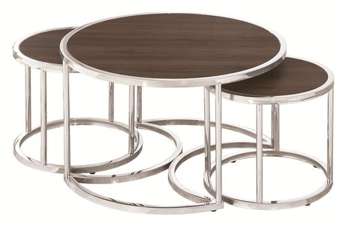 Nesting Tables Large Round 3pc Table