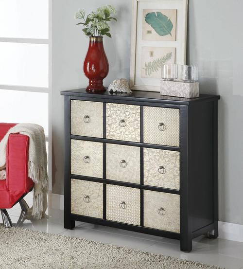 accent cabinets metal front 9drawer accent cabinet