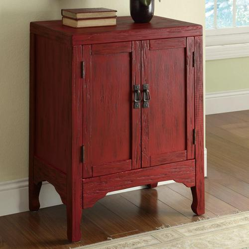 Coaster Accent Cabinets Rustic Red Accent Cabinet With 2 Doors. Blue Bedroom Walls. Tongue And Groove Ceiling Planks. Laundry Room Designs. Roll Out Windows. Coastal Fabric. 26 Inch Bar Stools. Landscape Ideas For Front Of House. Gray Kitchens