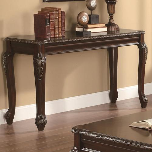 Solid Wood Console Tables With Storage ~ Coaster occasional group solid wood sofa table with