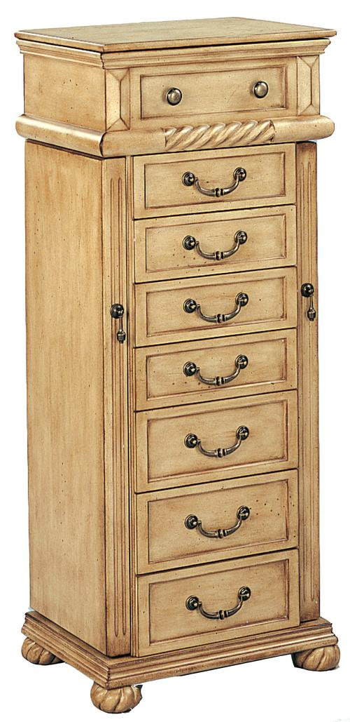 coaster jewelry armoires jewelry armoire in a light green. Black Bedroom Furniture Sets. Home Design Ideas