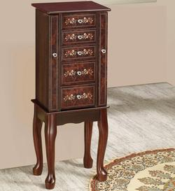 add to cart jewelry armoires 5 drawer jewelry armoire with