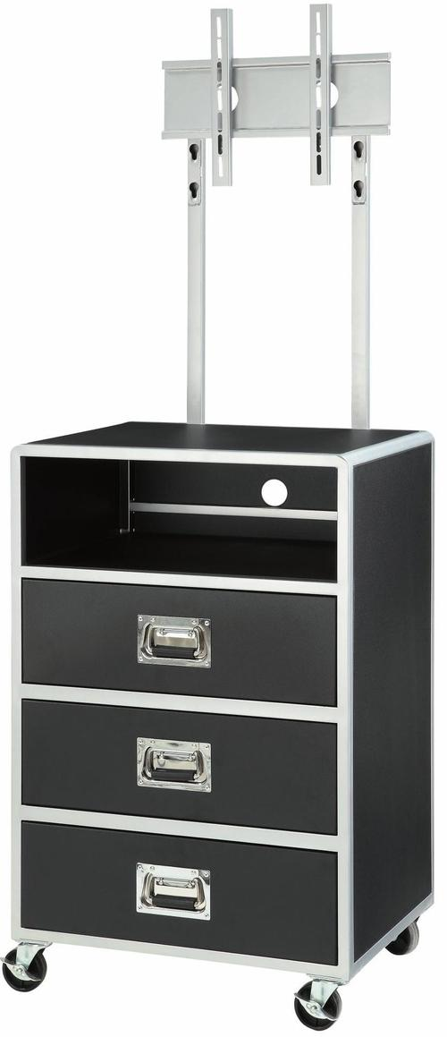 Coaster LeClair 3 Drawer Media Chest with TV Wall Mount