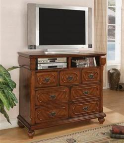 Isabella TV Dresser with Drawer Storage