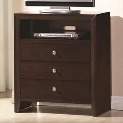 Serenity Media Chest with Open Compartment