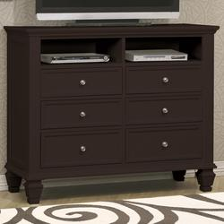 Sandy Beach Transitional Media Chest