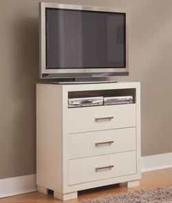 Jessica Media Chest w/ 3 Drawers