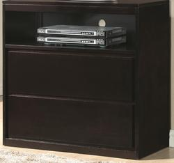 Hudson Media Chest with 2 Drawers and 1 Shelf