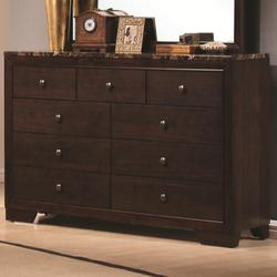 Conner Dresser with 9 Drawers