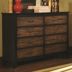 Conway 8 Drawer Dresser with English Dovetail Drawers