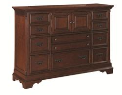 Savannah Dresser with Drawers and Doors