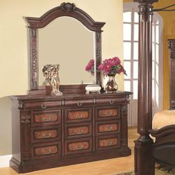 Grand Prado Drawer Dresser w/ Mirror