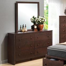 Remington Drawer Dresser w/ Mirror