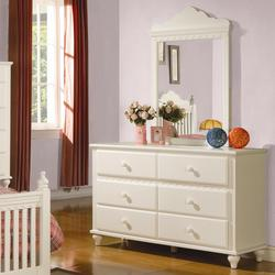 Pepper Drawer Dresser w/ Mirror