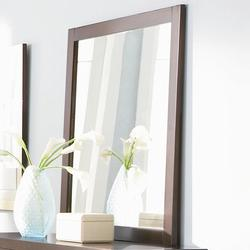 Lorretta Contemporary Framed Dresser Mirror