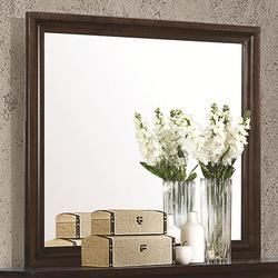 Jaxson Rectangular Mirror with Wooden Frame